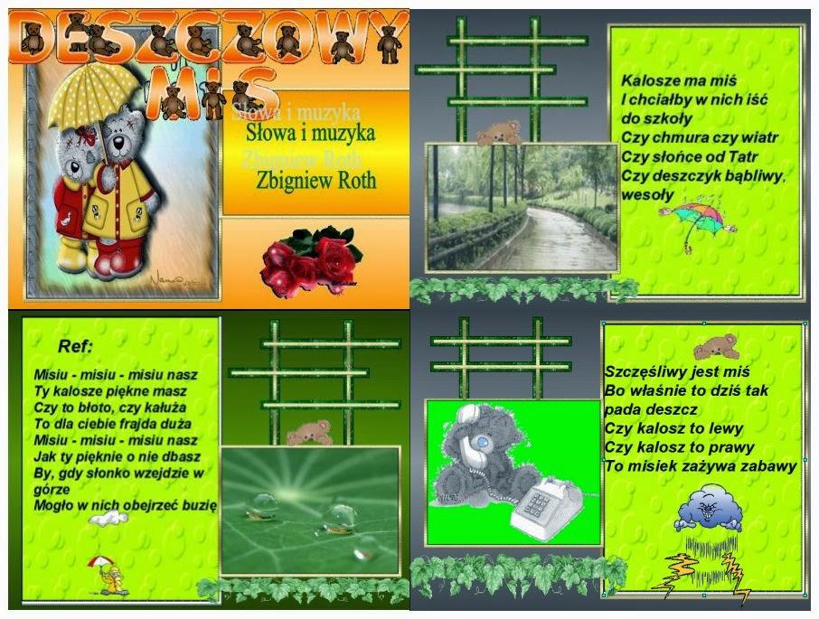 Moja Twórczość Zbigniew Roth Wiersze Dla Dzieci
