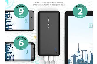 OFFERTA LAMPO: Batteria esterna multidispositivo potentissima a prezzo ridotto!