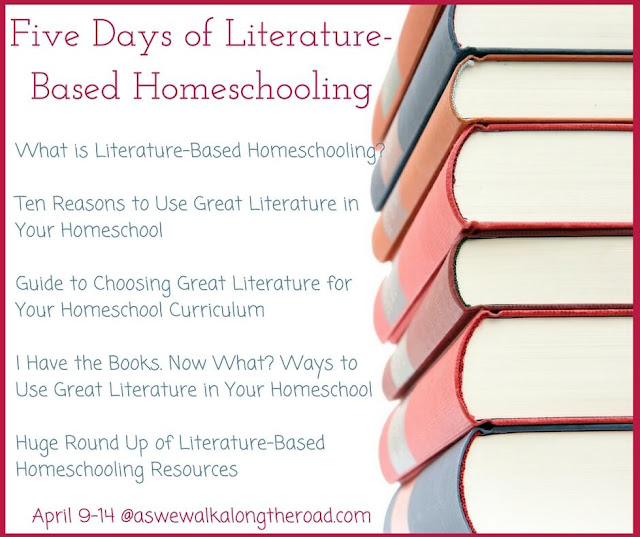 Five Days of Literature-Based Homeschooling posts