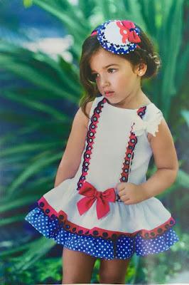 vestido dolce petit blanco del catalogo primavera verano 2016