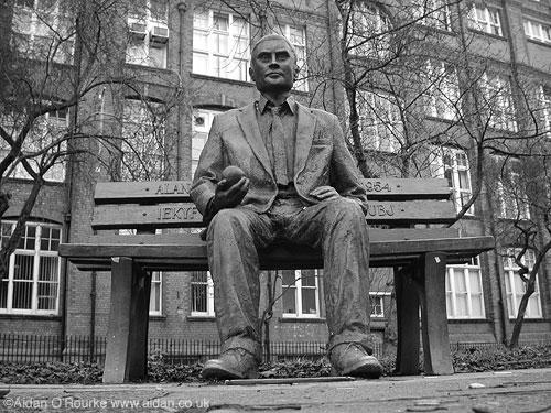 Monumento em Manchester, UK.