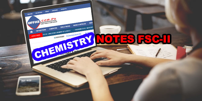 chemistry notes fsc ii