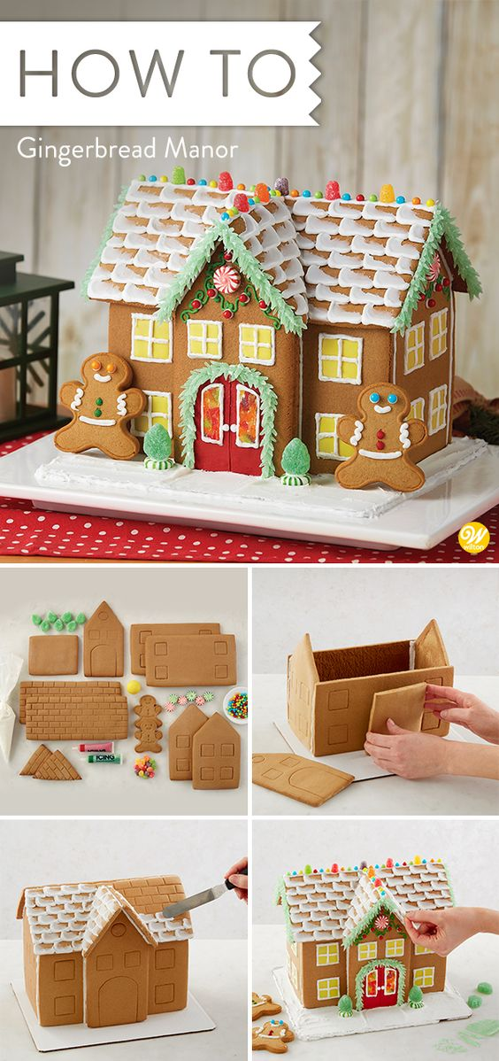 Great Expectations Gingerbread Manor