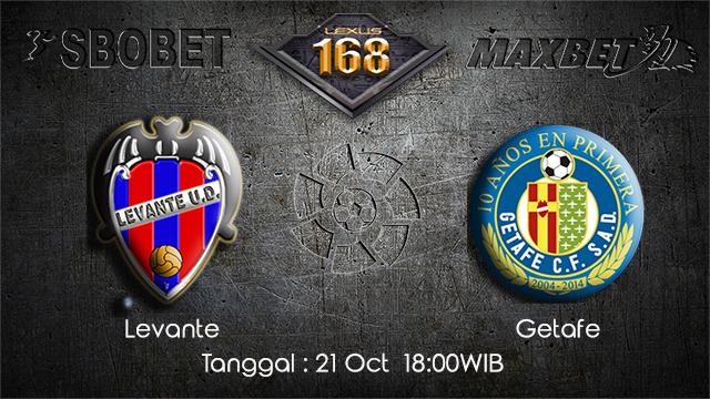 PREDIKSIBOLA - PREDIKSI TARUHAN BOLA LEVANTE VS GETAFE 21 OCTOBER 2017 (LA LIGA)