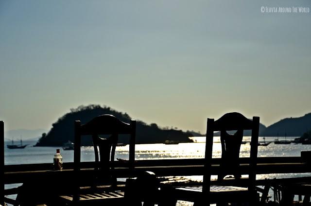 Vistas de día a la bahía