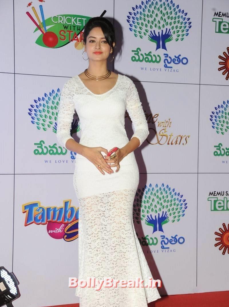 Shanvi Stills, Actress Shanvi Hot Sexy Pics in White Dress