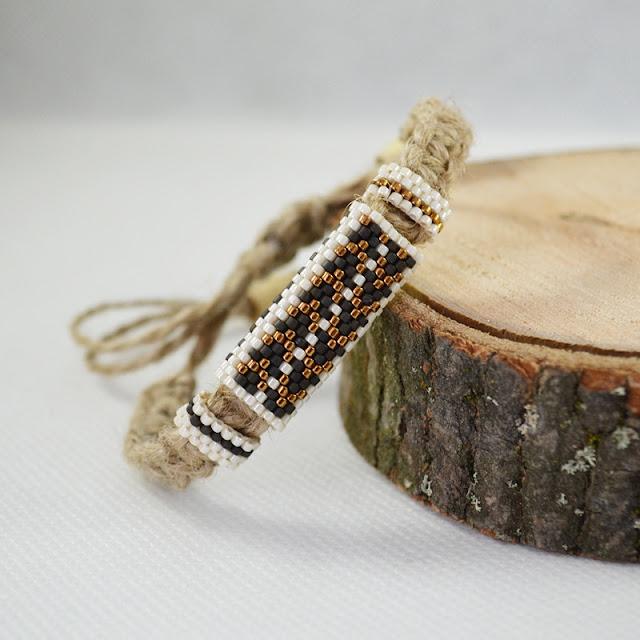 Naturalny sznurek w biżuterii