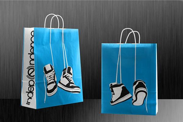 In túi giấy cho shop thời trang giá rẻ