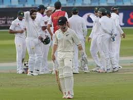 PAK vs NZ 2nd test 2018 in UAE,