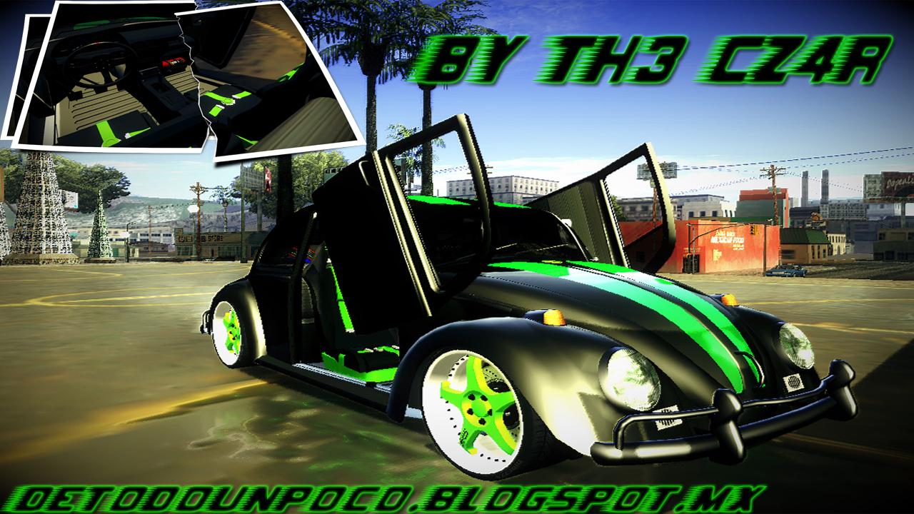 Gta San Andreas Wallpaper Hd Volkswagen Vocho Tuning By Th3 Cz4r Descargar Gta San