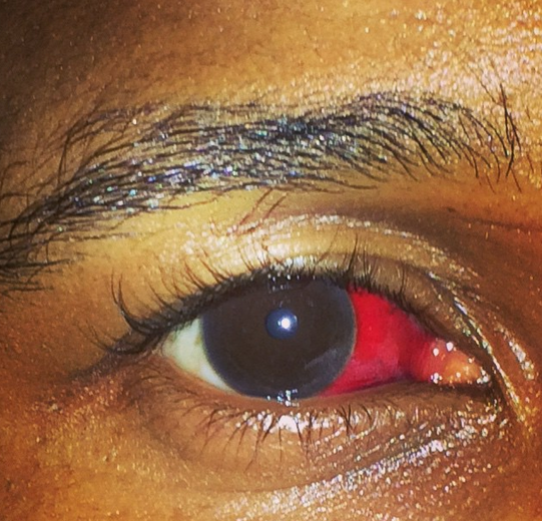 Usher gets into a fight in the club over fiancee, gets punched in the eye