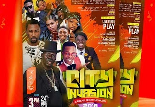 Trending!!!! Expect Nothing But Quality Entertainment at City Invasion 2018- Massive CCFR (Must Read)