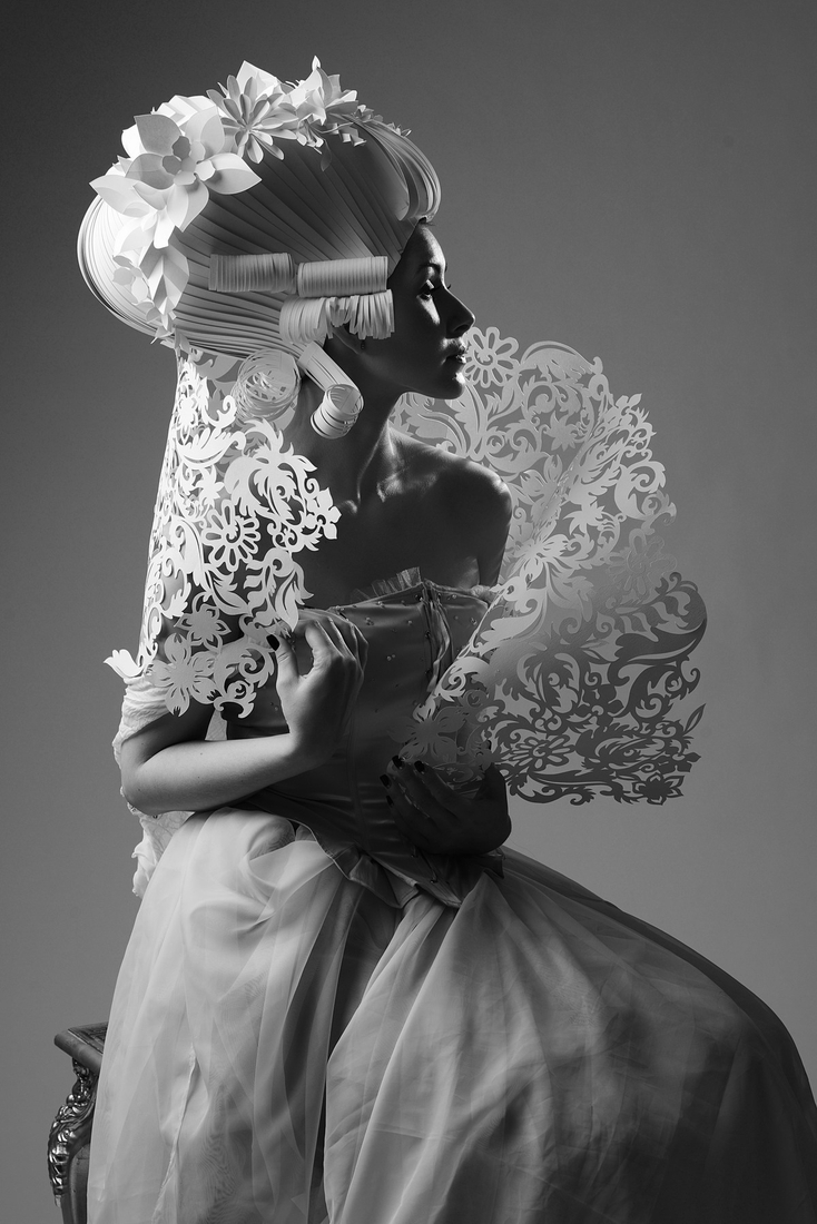 05-Asya-Kozina-Ася Козина-Baroque-Wigs-made-out-of-Hand-Cut-Paper-www-designstack-co