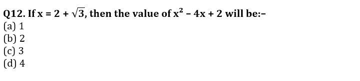 Algebra Questions for SSC CGL TIER-2 , SSC Stenographer & IB (ACIO) 2017_280.1