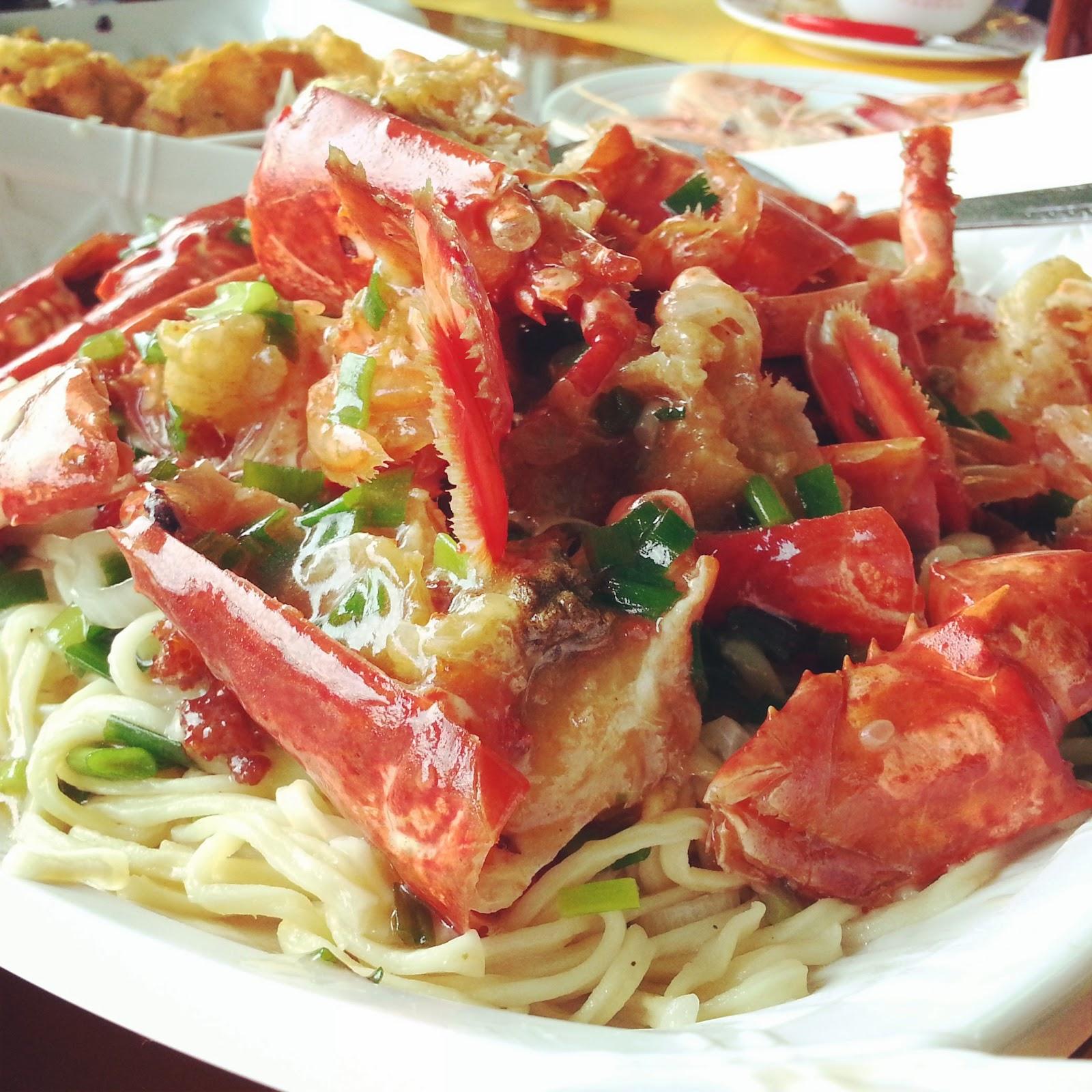 Rainbow Shrimp Chinese Food