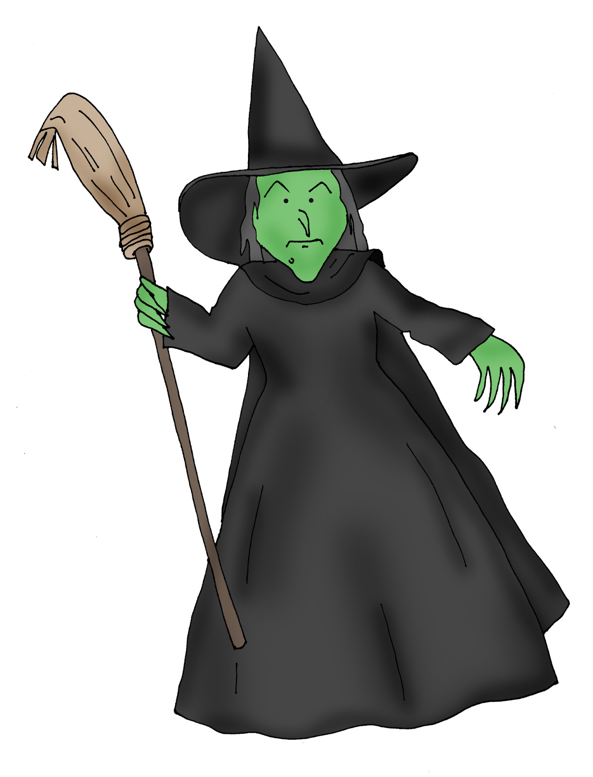 Wicked Witch Wizard Oz Coloring Pix