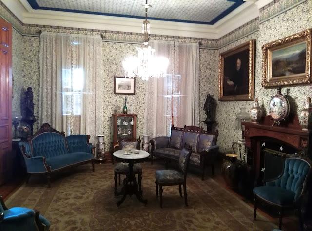 Benjamin Harrison's Parlor.