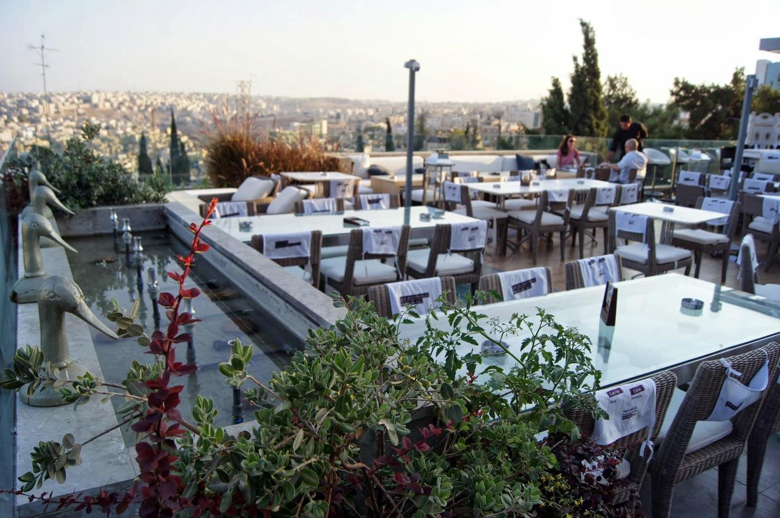 Blonde In Amman Rooftop Restaurants