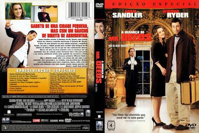 Filme A Herança de Mr. Deeds DVD Capa