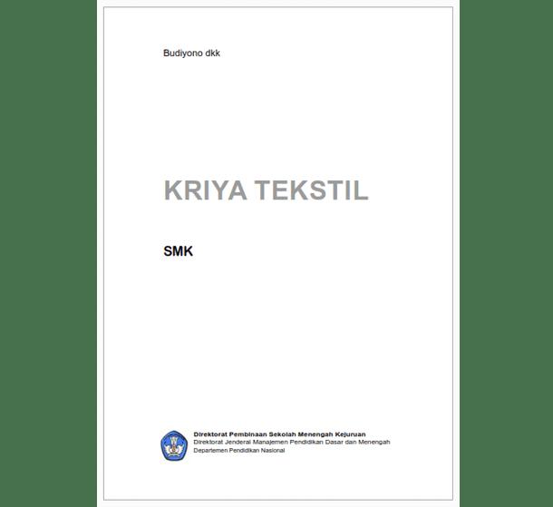 Buku SMK Seni dan Pariwisata Kriya Tekstil