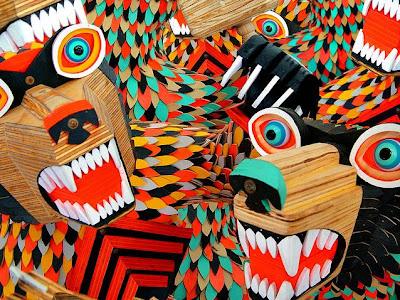 Arte de fantasía con madera.
