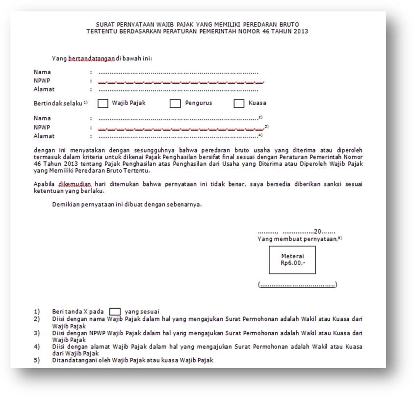 BELAJAR PAJAK: Cara membuat SKB (Surat Keterangan Bebas)