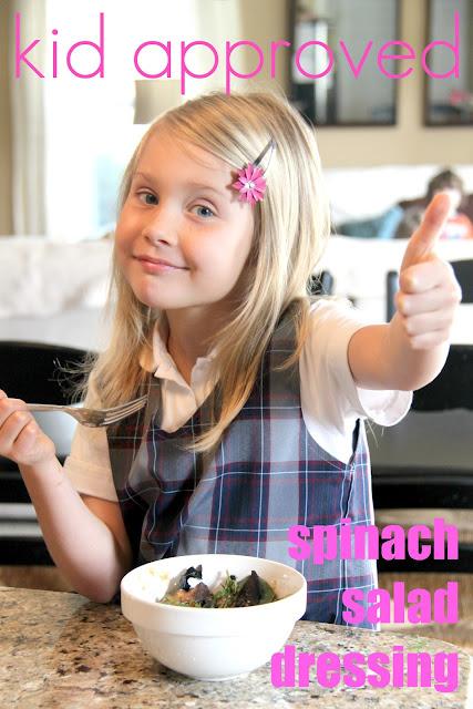 Homemade Spinach Salad Dressing Bonnie Donahue