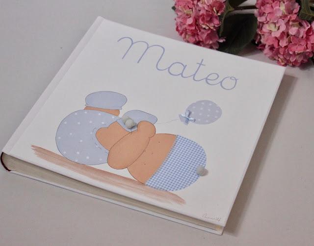 álbum de fotos infantil y personalizado , recién nacido