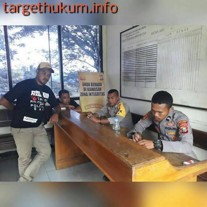 Lecehkan Profesi Wartawan, PLT Kepala Desa Dilaporkan ke Polisi