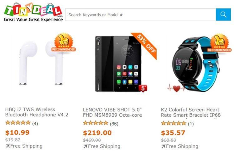 En Güvenilir Çin Alışveriş Siteleri - Tinydeal