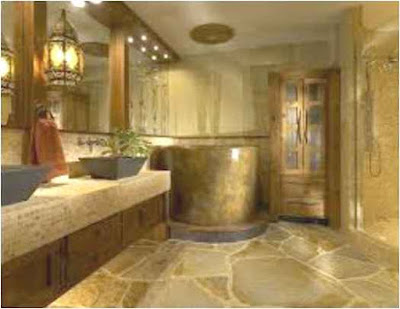 Bathroom Designs With Stone Tiles Unique