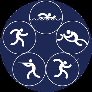 Icon Logo Modern Pentathlon Asian Games 2018