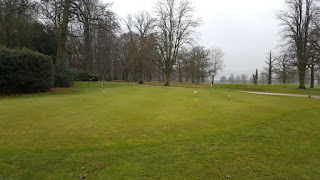 The Golf Putting Practice Area at Luton Hoo