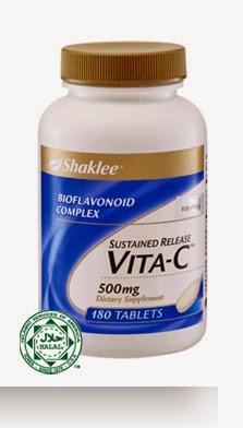 Vitamin C bantu hilangkan parut kudis buta