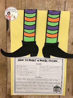 Your first, second, and third grade students will love making this fun, engaging, and adorable Halloween themed witch writing craftivity!   With six different writing prompts to choose from in both primary lined and single lined spaced options, these look adorable displayed in the hallway or on a bulletin board.