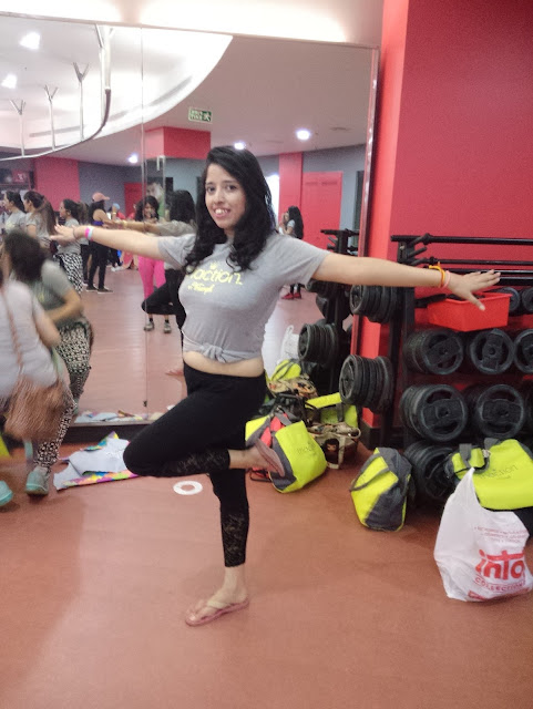 Nikita Gharat Triaction  by Triumph Fitness session