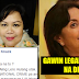 Sister of Late Miriam Defensor Santiago Slams Robredo on her statement for considering the decriminalization of Illegal Drugs: 'Kaninong idol itong tanga na to?'