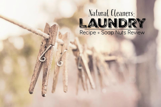 Natural Laundry Detergent Recipe With OxyBoost + a Review of Soap Nuts