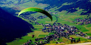 Paragliding Tour in Batu Malang City