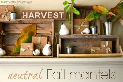 neutral fall mantels
