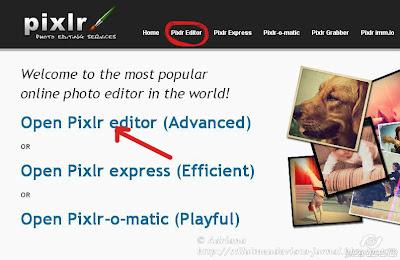 tutorial pixlr