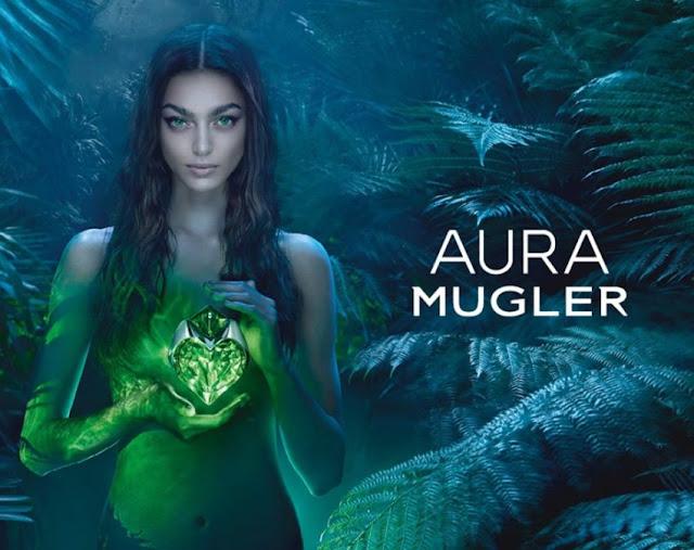 Reklama perfum Thierry Mugler Aura