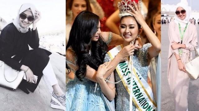 Kevin Liliana Dinobatkan sebagai Miss International 2017