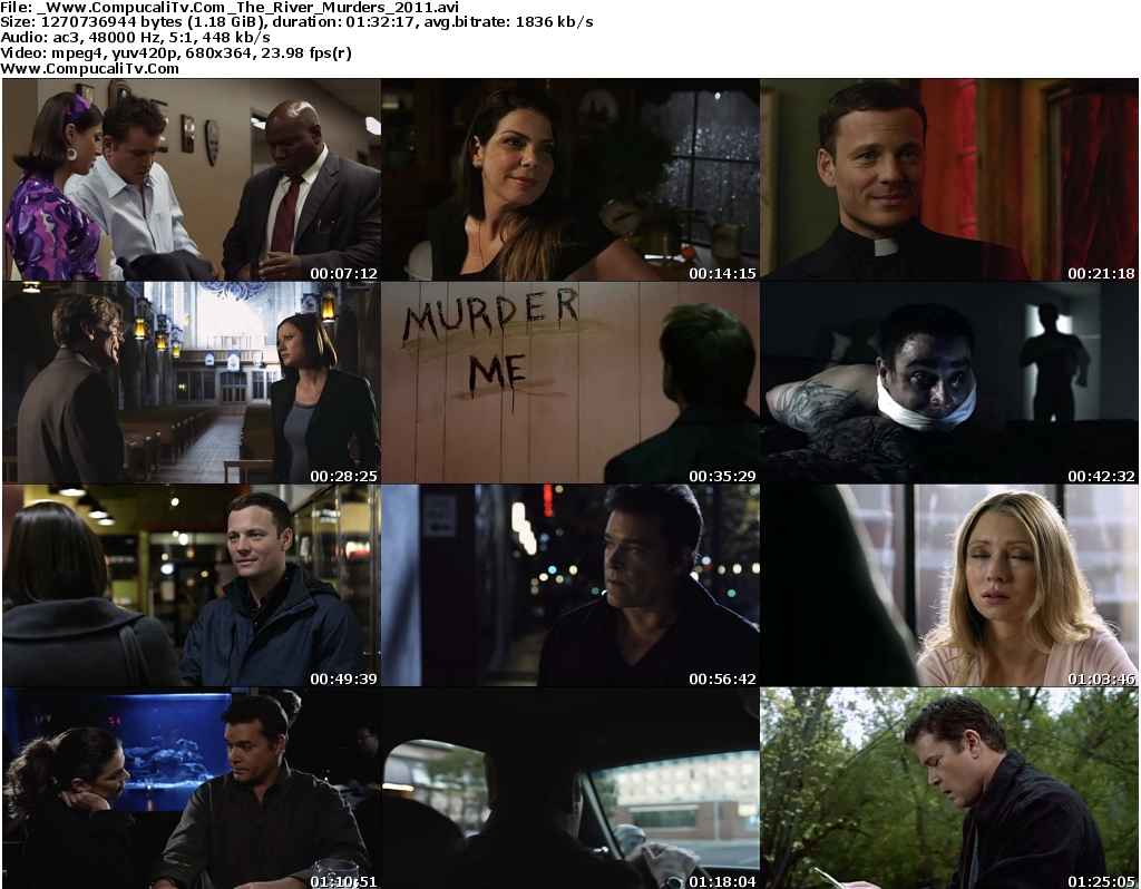 The River Murders 2011 [DVDRip] Subtitulos Español Latino Descargar [1 Link]