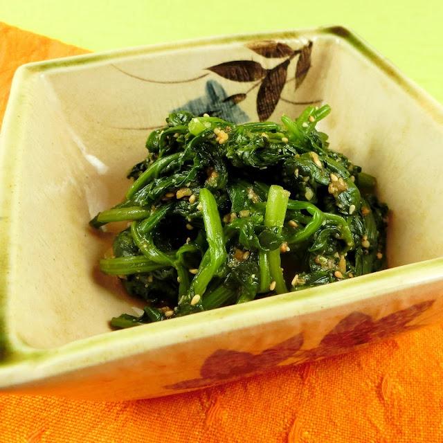 ほうれん草のごま和えを3ステップでつくるとっておきレシピ