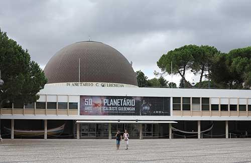 Planetario Calouste Gulbenkian, Belem, Lisbon, Portugal.