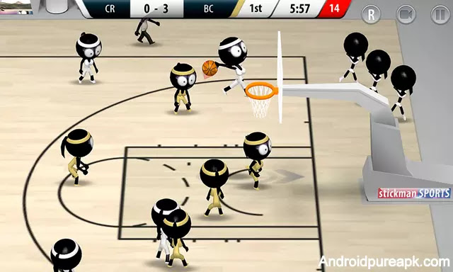 Stickman Basketball 2017 Apk