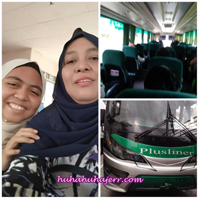 Pengalaman Menaiki Bas Express Dari Seri Iskandar Ke Shah Alam