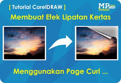 Tutorial Membuat Efek Lipatan Kertas Menggunakan CorelDRAW
