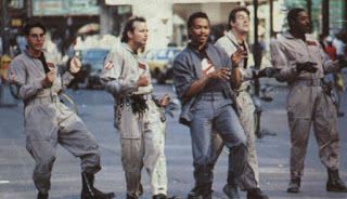 Ghostbusters 1984 music video dancing Ray Parker Jr.